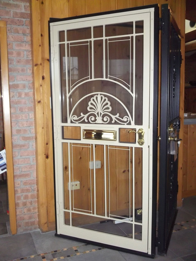 Steel Security Doors And Window Guards Chicago Nombach