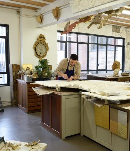 Atelier du Nombre d'or. Bruno Toupry réalise prototypage