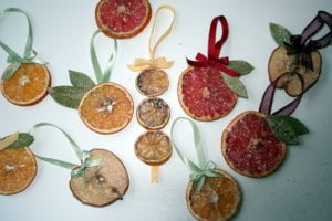 dried fruit ornaments photo 300x200