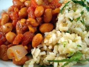 mexican beans and rice photo 300x225