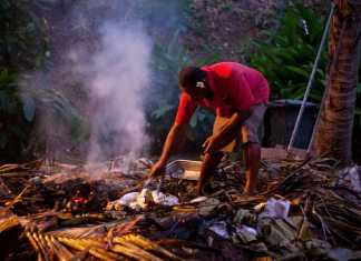 Popular Food in Fiji - Lovo