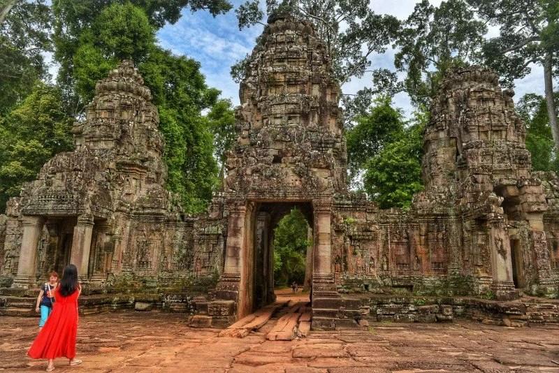 Bantey Kdei Temple, Angkor