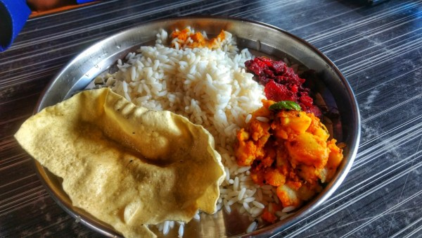 Lunch in Munnar