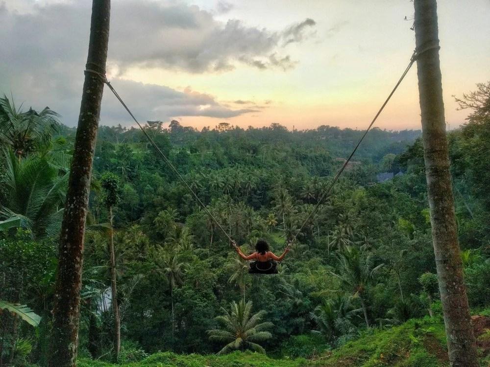 Ubud's Highest Swing, Zen Hideaway