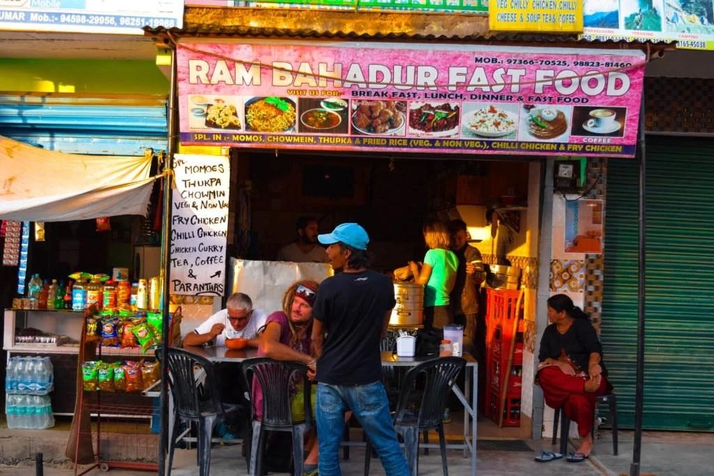 Ram Bahadur Fast Food, Bir Billing