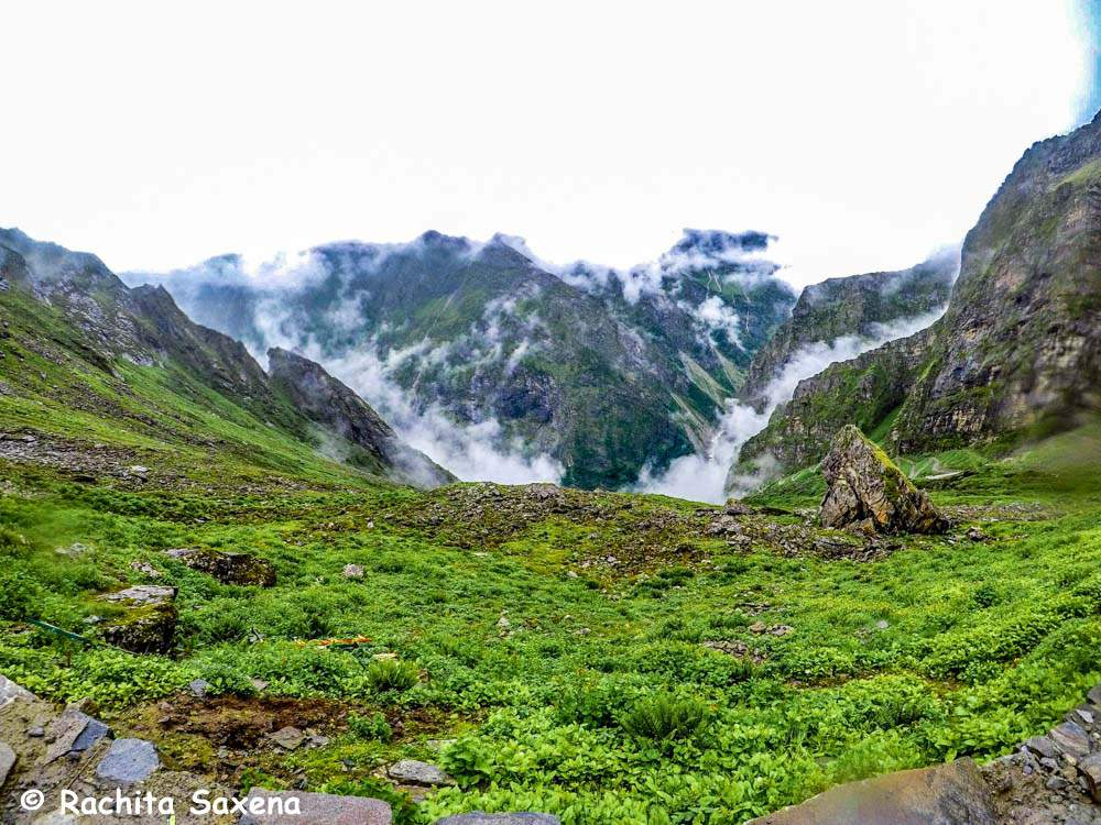View from the Hemkund Sahib Top
