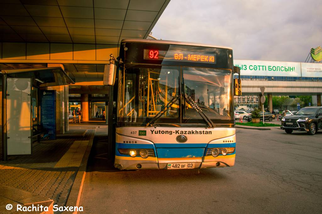 Airport Bus to Almaty