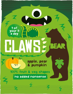 BEAR - Claws Appel, Peer & Pompoen