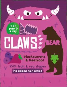 BEAR - Claws Zwarte Bes & Rode Biet