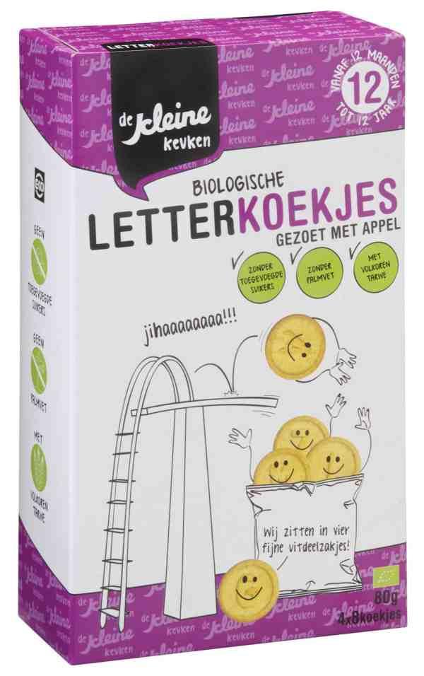 De Kleine Keuken - Biologische Letterkoekjes