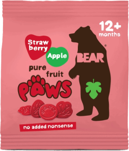BEAR - Paws Aardbei & Appel