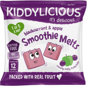 Kiddylicious - Zwarte Bes & Appel Smoothie Melts