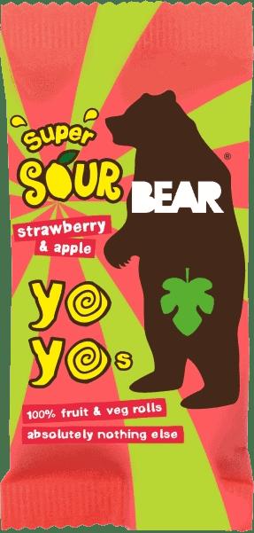 BEAR - Zure Yo Yo's Aardbei & Appel