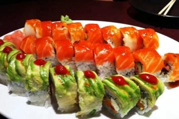 Sushi Spread from Sushi Zushi