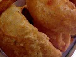 Crispy Onion Rings $6 @ BurgerFi in Down Town Silver Spring, Maryland
