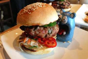 Bahn Mi Burger Tapas $9 @ MASA 14 on U st in DC