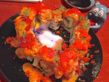 Burning Love Roll from Sushi Jin Next Door