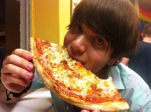 Cheese Pizza from Jumbo Slice Kouzina Angelinas
