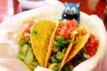 Chicken Tacos from Tippy's Taco