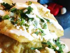 Chilaquiles Chips Tapas $7 @ MASA 14 on U St in DC