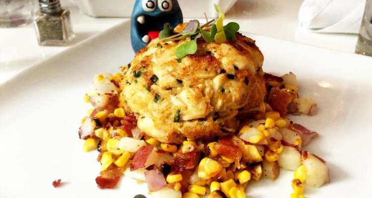 Crabcake Entrees from Level One Cobalt