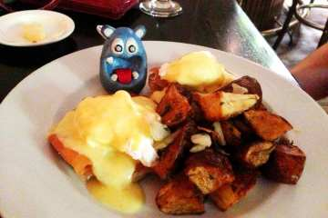 Eggs Benedict House Smoked Salmon from Tabard Inn