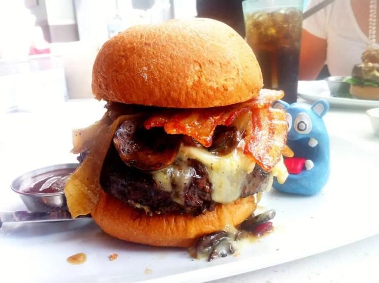 Gluten Free Burger from Counter