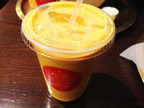 Mango lassi from Spice 6