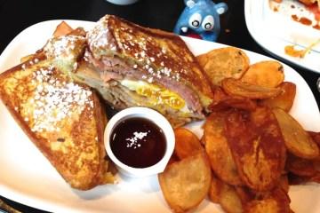 Monte Cristo Sandwich $11 Brunch @ Scion Silver Spring