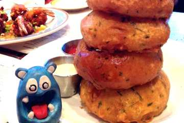 Onion Rings from Copper Canyon Grill