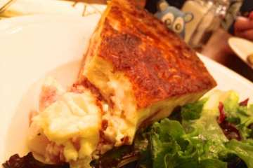 Quiche Lorraine $5 from Paul Bakery & Cafe
