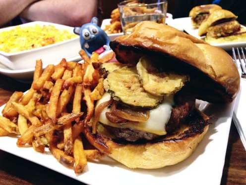 Scion Wagyu Burger $12 @ Scion Down Town Silver Spring