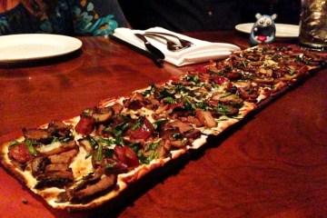 Steak & Cremini Mushroom Flatbread from Seasons 52