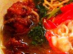 Taipei Curry Chicken Ramen from Toki Underground
