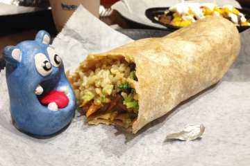 Teriyaki Steak Burrito from Boloco