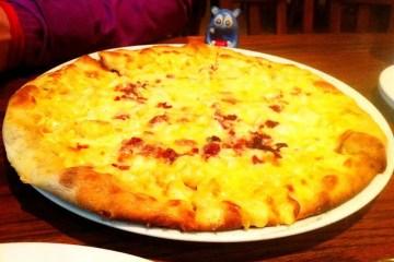 Truffled Mac n Cheese Pizza $17 @ Mad Fox Brewing Falls Church