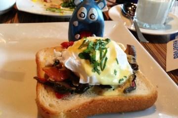 Veggie Benedict Tapas $8 @ MASA 14 on U st in DC
