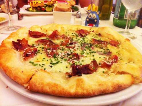 Bacon Honey Pizza $15 @ Lia's by Chef Geoff in Friendship Heights