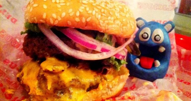 Big Stuff Bacon Meltdown Burger from Good Stuff Eatery