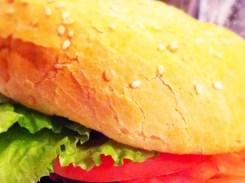Bourbon Bacon Cheeseburger $9 @ Parkway Deli in Silver Spring