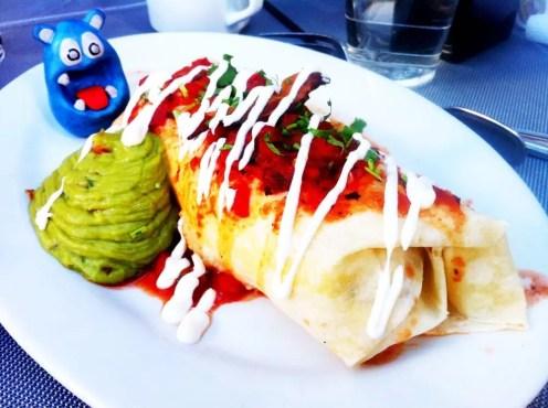 Breakfast Burrito from PBR Rock Bar