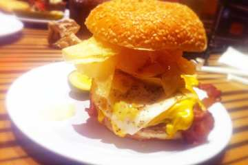 Brunch Burger from Bobby's Burger Palace