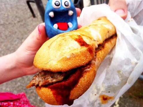 Butifarra Burger from Pepes