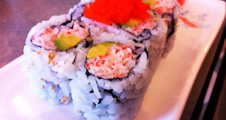California Roll from Sushi House