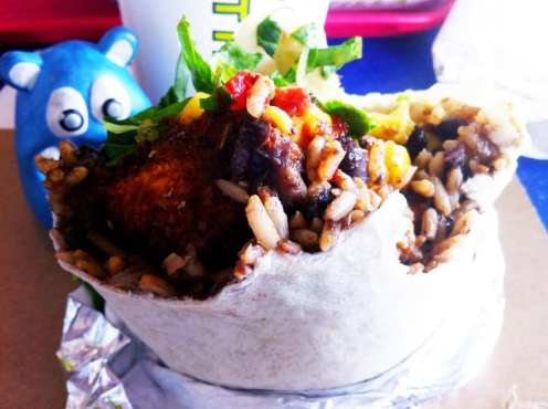 Caribbean Mango Burrito from California Tortilla