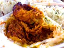 Sweet Plantains Crabmeat Stew Casserole from Cafe Puerto Rico San Juan Puerto Rico