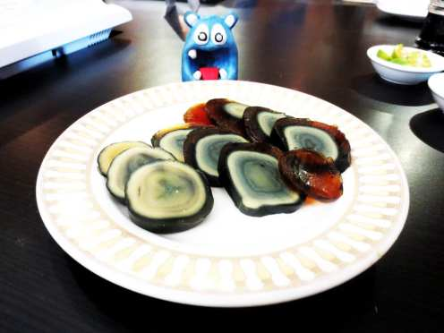 Century Egg $4 @ Gloria Maris in Manila Philippines