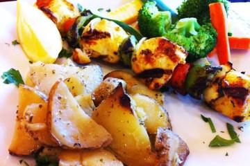 Chicken Kabob from Mediterranean Grill