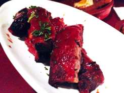 Slow Cooked Pork Ribs from Bar Gitano San Juan Puerto Rico