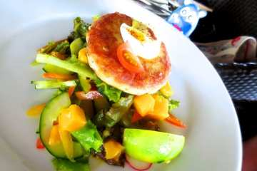 Crab Cake from Amorita Resort Bohol Philippines